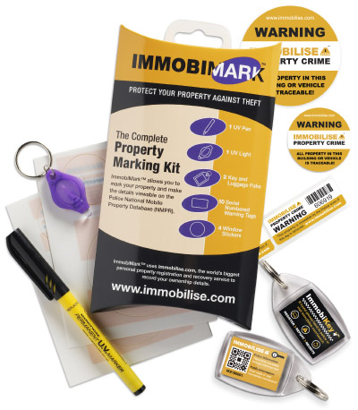 ImmobiMark Complete Property Marking Kit image